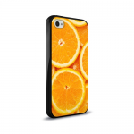 Кейс силикон.New case для Apple iPhone 4 арт.59196 апельсин