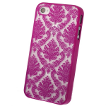 Кейс ультратонкий.Activ для Appel iPhone 4 (rose) арт.53017