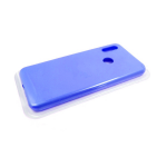 Силиконовый чехол Huawei Honor 10i Silicone case High-end TPU Case, soft-touch, бархат, голубой