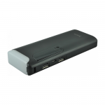 Внешний АКБ HOCO B27-15000 Pusi Mobile Power Bank With Table Lamp 15000 mAh LiOn USB 2,1A (черный)