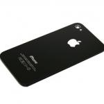 Задняя крышка Apple iPhone 4S A1387 (черный)