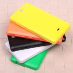 Задняя крышка ААА класс для Microsoft Lumia 430, арт.008471 (Оранжевый)