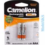 Аккумуляторные батареи AAA Camelion 900 mAh