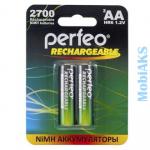 Аккумулятор АА Perfeo HR06-2BL 2700 mAh (2/60/240)