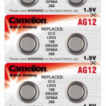 Батарейка Camelion AG12/1.5V