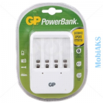 Зарядное устройство для аккумуляторов AA, AAA GP PB420GS-2CR1, время заряда 13ч, 4шт. AA по 2700mAh
