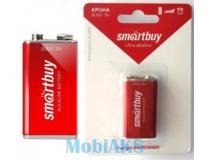 Батарейка алкалиновая Крона Smartbuy 6LR61/1B