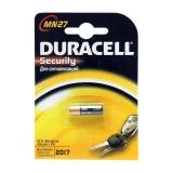 Батарейка A27 Duracell MN27-1BL, 12В, (1/10/100)