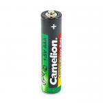 Батарейка AA Camelion R06-4P, 1.5В, цвет: зелёный