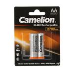 Аккумулятор AA Camelion, HR06-2BL, 2700mAh, (цена за упаковку)