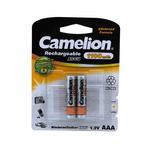 Аккумулятор AAA Camelion, R03-2BL, 1100mAh, (цена за упаковку)