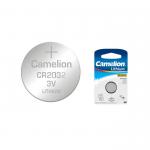 Батарейка Camelion CR2032-5BL, 3В, Li, (5/50/1800)