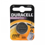 Батарейка Duracell CR2025-1BL, 3В, (1/10/100)