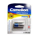 Батарейка Camelion CR123A-1BL, 3В, (1/10/200)