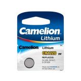 Батарейка Camelion CR1220-1BL, 3В, Li, (1/10/1800)
