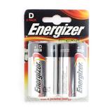Батарейка D Energizer LR20-2BL Max, 1.5В, (цена за один элемент)