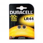 Батарейка Duracell G13-LR44-2BL Duralock, 1.5В, (цена за 1 шт)