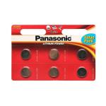 Элемент питания PANASONIC Power Cells CR2032  BL6   (120/600)
