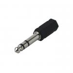 Переходник джек 6,3 мм - аудио гнездо 3,5 мм стерео JETT