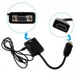 Орбита OT-AVW21 видео переходник (HDMI-VGA/J3.5)