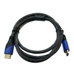 HDMI-HDMI 1,5м оплётка, 2 фильтра (Орбита SH-121)/20/150