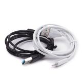 Кабель Celebrat USB-Ligtning для iPhone, арт.010053 (Черный)