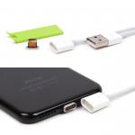 USB дата кабель магнитный для Apple iPhone 5/5S/6/6 Plus/7, арт.009839 (Белый)