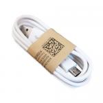 Кабель USB - микро USB, 1.0м, круглый, 2.1A, резина, цвет: чёрный, (20 шт/уп)