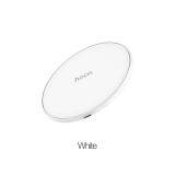 Устройство зарядное беспроводное HOCO, CW6, 1000mA, пластик, цвет: белый