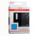 ЗУ сетевое Activ для планшета 5V/2.0A (штырек 2.5х0.9) арт.39503