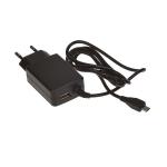 Блок питания ASX сетевой MicroUSB (5,0 В, 2 А) + USB (европакет)