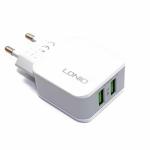 Сетевое зарядное устройство LDNIO на 2 USB выхода 2,4А А2202