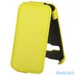 Чехол Flip Activ для Alcatel OT 3041 D (yellow) арт.43031