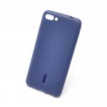 Силиконовая накладка Cherry для Asus Zenfone 4 Max/ZC554KL синий