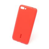 Силиконовая накладка Cherry для Asus Zenfone 4 Max/ZC554KL красный