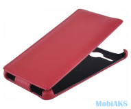 Чухол футляр-книга Armor Case для FLY Nimbus 3 FS501 красный в техпаке