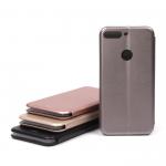 Чехол-книжка для Huawei Honor 7С Pro/Y7 Prime (2018), арт.009805 (Розовое золото)