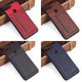 Чехол с карманом под пласт карты для Huawei Honor 7A Pro/Y6 Prime (2018), арт.010459 (Черный)