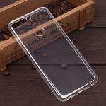 Силиконовый чехол для Huawei Honor 7С Pro/Y7 Prime (2018), 1 мм, арт.008291-1 (Прозрачный)