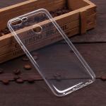 Силиконовый чехол для Huawei Honor 9 Lite, 1 мм, арт.008291-1 (Прозрачный)