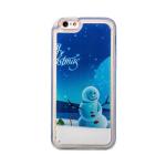 Чехол-накладка - плавающий снег для Apple iPhone 6 (001)