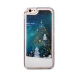 Чехол-накладка - плавающий снег для Apple iPhone 6 (002)