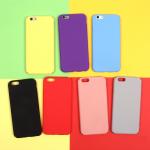 Панель матовая Soft Touch для iPhone 6/6S, арт. 010659 (Фиолетовый)