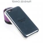 Панель Soft Touch для iPhone 6/6S, арт. 007001 (Темно-зеленый)