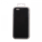 Силиконовый чехол Iphone 6/6S Silicone Case, черный в блистере