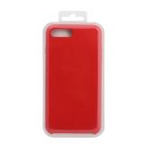 Силиконовый чехол Iphone 7/8 plus Silicone Case, красный в блистере