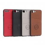 Магнитный чехол с карманом для iPhone 7 Plus, арт.010637 (Серый)