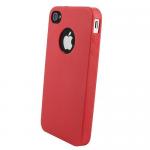 Кейс силикон.Activ Pastel для Appel iPhone 4 (raspberry) арт.59384