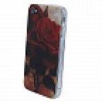 Кейс силикон.New case для Apple iPhone 4 арт.61578