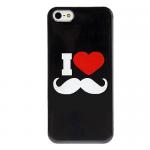 Бампер силикон. для iPhone 4 усы
